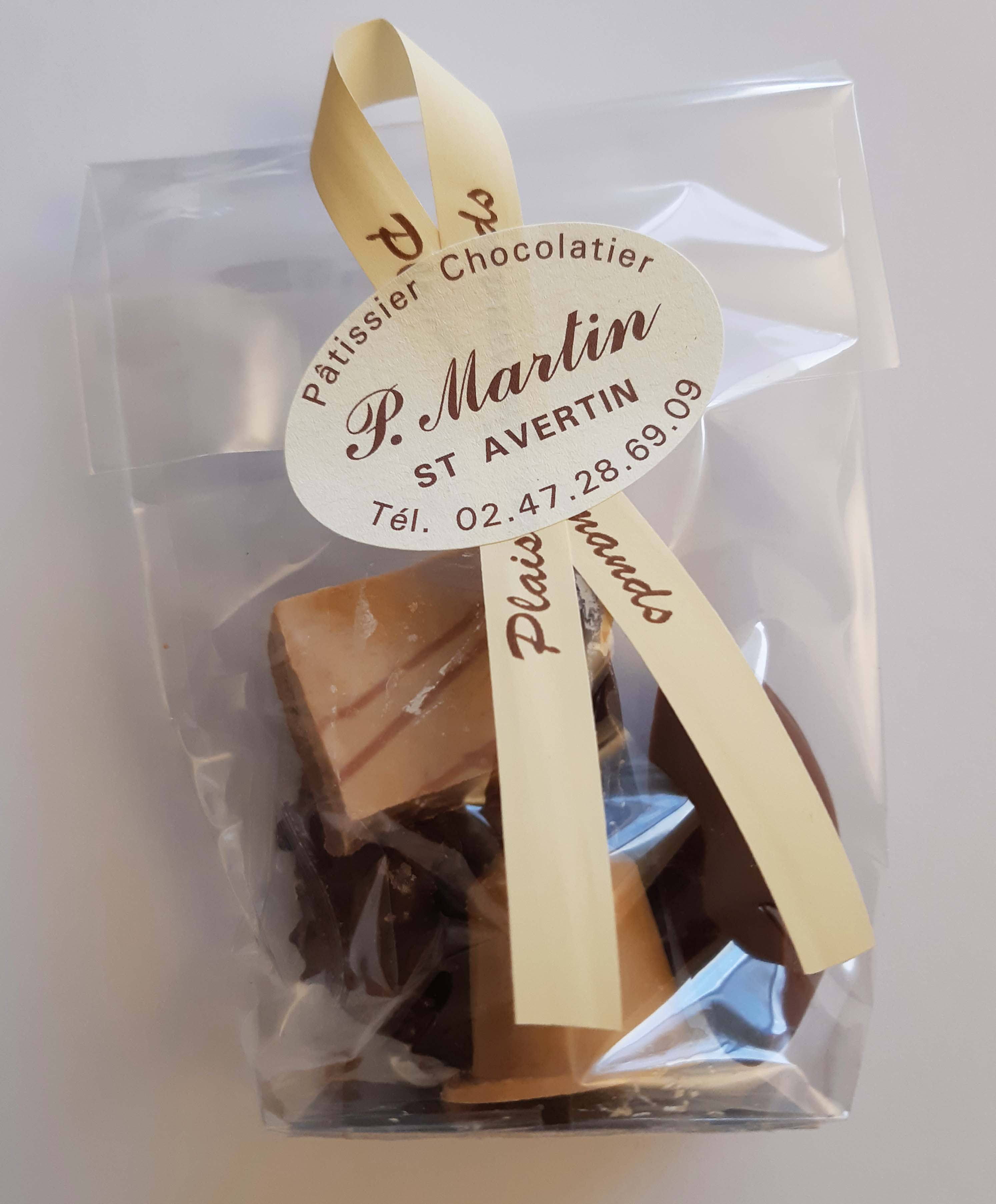 Sachets de chocolats